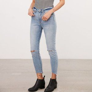 NEW Urban Outfitters BDG Slash Twig Crop Jeans